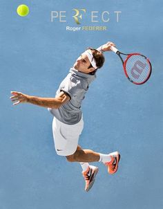 He doesn't play tennis...He is Tennis!!! Per German tennis fan in Halle, Germany 'federer'   is very ancient German word for 'trader of feathers' Incredible, RF floats around the court like a feather!!