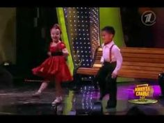 Детский Мега Танец.avi Two kids in a dance contest in another country..