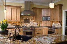 View of main working area - traditional - kitchen - other metro - Kitchens Unlimited- Karen Kassen, CMKBD