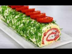 Роллы из плавленного сырка ! Красиво, быстро и просто ! - YouTube Yams, Sushi, Appetizers, Food And Drink, Cooking Recipes, Dishes, Ethnic Recipes, Party, Party Dishes