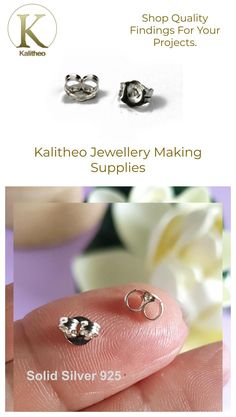 #EarringButterflies #EarBacks #EarNuts #Butterflies #EarringBacks #EarringNuts #JewelleryMaking #JewellerySupply #AusOnlineShop #OnlineFindings AU$1.60 a pair. Visit our jewellery supply section @ kalitheo.com.au for our range of findings and beads.  Butterflies are also known as Ear Back or Ear Nuts. They are an integral part of stud earrings as they hold your earrings in place. They also provide a balance to your earrings.
