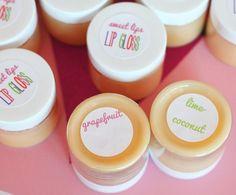 homemade natural lip gloss