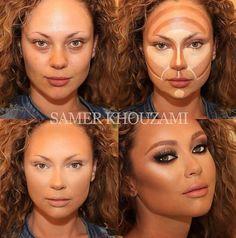 Makeup contorno