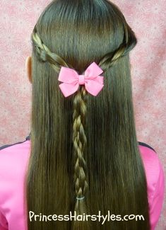 Magnet braids half up, pull back hairstyle tutorial