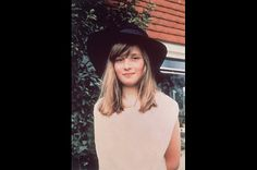 Hat Trick  The tender 10-year-old wears a black hat during vacation in Itchenor, West Sussex, in 1971.