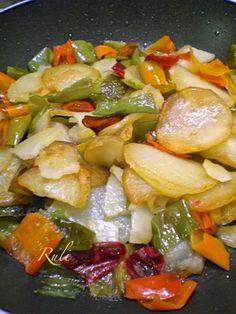patate e friggitelli