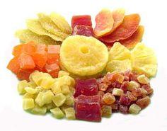 Resultado de imagen para frutas deshidratadas