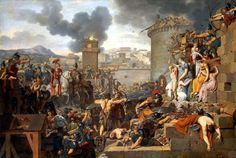 necspenecmetu:    Armand-Charles Caraffe, Metellus Raising the Siege, late 18th century