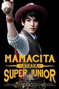 Kyuhyun for 7th album 'MAMACITA'