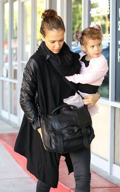 hope i look this chic if i ever become a mother