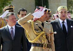 جلالة الملك محمد السادس حفظه الله بالأردن، وغدا يصل قطر في زيارة رسمية لمدة اربعة ايام
