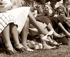 Scenes from 1938 Carnival of Swing concert on Randall's Island, NY. It is considered the first outdoor jazz festival.