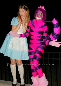 The Best Realistic Version of Alice in Wonderland's Cheshire Cat Costume ...This website is the Pinterest of costumes