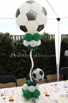 Football Party Decoration Ideas Best Of Football Birthday Party Decorations Center Pieces Elegant Football Party Decorations, Soccer Birthday Parties, Football Birthday, Soccer Party, Balloon Decorations, Birthday Party Decorations, Baby Shower Decorations, Party Themes, Soccer Ball