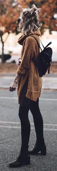 Take a look at 35 casual winter outfits with leggings you have to try in the photos below and get ideas for your own cold weather outfits! Leggings is the magic answer when it comes to fall & winter outfits,… Continue Reading → Fall Winter Outfits, Autumn Winter Fashion, Spring Outfits, Dress Winter, Simple Fall Outfits, Cold Weather Outfits, Autumn Fall, Look Fashion, Womens Fashion