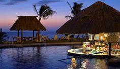 Fiji - Denarau Island- Wyndham Vacation Resort; this is where I want to go for my honeymoon but it's pretty damn pricey.