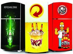 Kit Adesivo Envelopamento Geladeira Cerveja Skol Brahma E+ - R$ 129,90