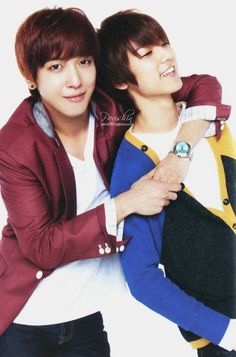 CNBlue Young Hwa and Min Hyuk