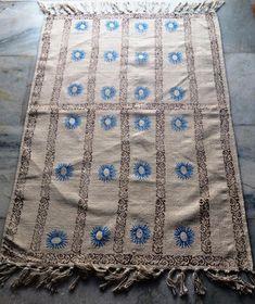 Handmade Kilim Dhurrie Hand Block Print  Kelim 3x5 Turkish Oriental Area Rug #Handmade #ArtsCraftsMissionStyle Kilim Rugs, Oriental, Arts And Crafts, Blanket, Crochet, Handmade, Ebay, Hand Made, Ganchillo