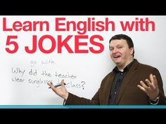 Learn English with 5 Jokes.