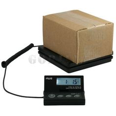 AWS Ship-Elite American Weigh Scales Postal Shipping Scale home & light industrial use Remote user LCD display Weighs Pounds & Ounces, Kgs & Grams. Hanging Scale, Postal Scale, Weighing Scale, Scale Design, Digital Scale, 1 Oz, Home Brewing, New Product