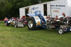 NTPA Truck and Tractor Pulling | 6,200-lb. Modified Two-Wheel-Drive Trucks