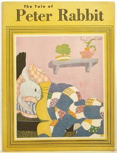 ''The Tale of Peter Rabbit''. Peat, Fern Bisel (illus). Sandusky, Ohio. American Crayon Company. 1943