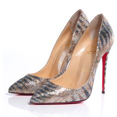 CHRISTIAN LOUBOUTIN Pigalle Follies Glitter Sirene 120 Pumps 38 ❤ liked on Polyvore featuring shoes, pumps, high heels, pointy toe pumps, high heel pumps, pointed toe high heel pumps, high heels stilettos and glitter shoes