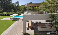 Outdoor Space Designed By Saota Architects.