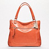 POPPY LEATHER GLAM TOTE.  A girl can't have enough bags. Great color!