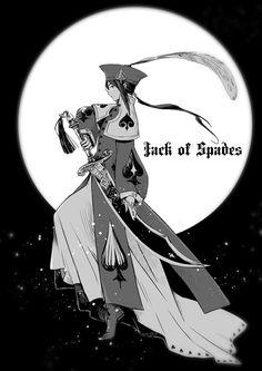 Hetalia - Cardverse - China (Jack of Spades)