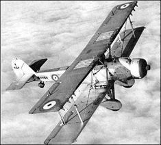 Vickers Vildebeest --- British biplane used as light bomber, torpedo bomber and in army cooperation roles.