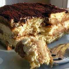 Authentic Tiramisu | I have been making it for over 5 years and it hasn't failed me yet. People always tell me that it's the best tiramisu they have ever eaten and they always ask for the recipe. I have included the north american measurements as well.