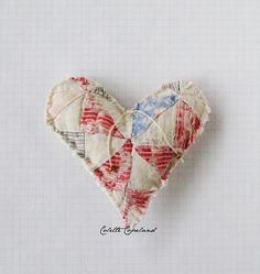 Humble and sweet! A shabby heart full of love by ColetteCopeland on Etsy, $18.00