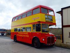 Paisley Scotland, Routemaster, Double Decker Bus, Bus Coach, London Transport, Busses, Coaches, Great Britain, Glasgow