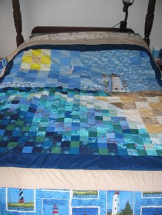 Made this quilt a couple of years ago.