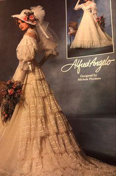 1980s Wedding Dress, Wedding Dresses, Alfred Angelo, Victorian, Design, Fashion, Bride Dresses, Moda, Bridal Gowns