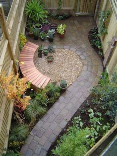 This would be great to then have the bench made out of the same stones circling around!