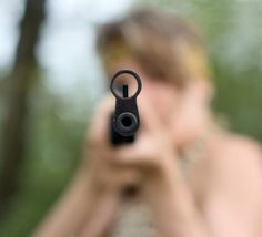 Group of Thugs Target Seemingly Defenseless Woman — They Had No Idea She Had Been Frequenting the Gun Range