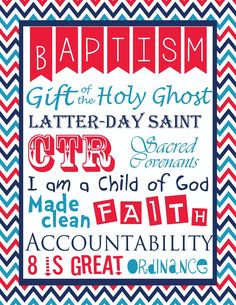 My son was baptized last year on the 4th of July... hence the patriotic themed prints!     To print your own   -click on the picture you wa...