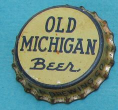 Old Michigan Beer cap from Michigan Brewing Co., Grand Rapids - 1930s