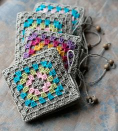 linen needle books by namolio, via Flickr