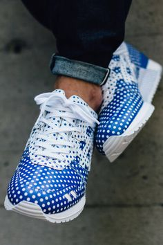 Adidas Originals Forum Lo RS casual sko Jeans Blå Hvid