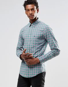Image 1 ofUnited Colors of Benetton Check Shirt