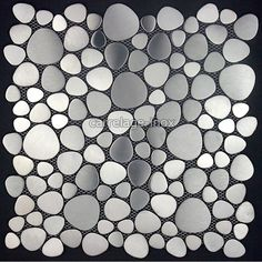 mosaique inox carrelage inox. les plaques de mosaique inox et carrelage inox sont de veritables plaques d'inox collees sur du gres cerame