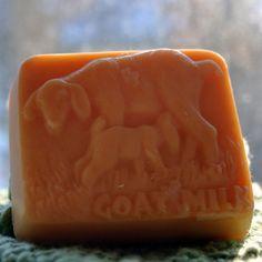 Lavender Goat's Milk Soap Lavender Goat Soap Goat by happygoatsoap, $4.50