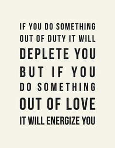 do what energizes you