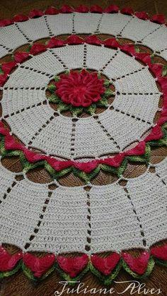 Jane Thread Crochet, Crochet Doilies, Crochet Diagram, Crochet Patterns, Crochet Towel Holders, Holiday Crochet, Manta Crochet, Coral Pink, Holiday Decor