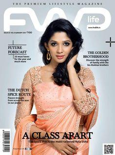 Nyla Usha's Fwd Magazine Cover shot