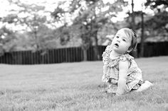 Tips for baby photography (sitting not walking)